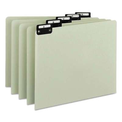 Smead® Recycled Top Tab File Guides, Alpha, 1/5 Tab, Pressboard,  086486505765