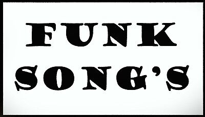 Best 560 OLDER Funk Music Songs on a USB Flash Drive.