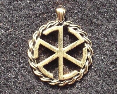 Ancient Greek-Scythian Bronze Kolovrat Wheel-Gates / Replica / Amulet-Symbol #1