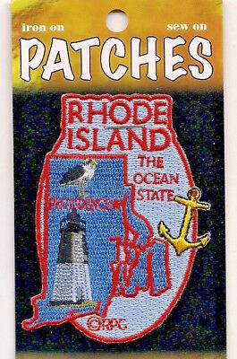 State of Rhode Island Souvenir Patch The Ocean State  Providence