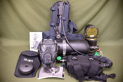 SCBA Avon ST53 Gas Mask Self Contained Breathing Apparatus PAPR FM53 Medium