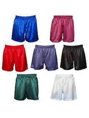 Pe Shorts Shadow Stripe Football Gym School Children Kids Boys Girls Adults Mens
