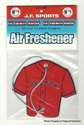 MLB Boston Red Sox Air Freshener Jersey new in package 2018 WORLD SERIES CHAMPS!