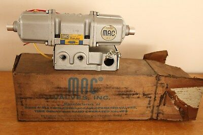 MAC Pneumatic Valve 538F-01-2 Electrical 120/60 NEW