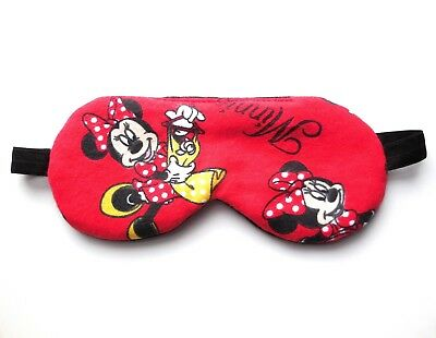 Girls Sleep Mask Minnie Mouse Disney Blindfold Cute Cotton Eye Cover Child Shade