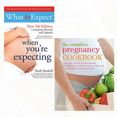 Pregnancy Cookbook Collection Perfect Healthy Fiona Wilcock 3 Books Set NEW