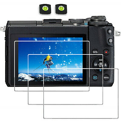Screen Protector for CANON eos M50 Digital Camera Tempered Glass 9H hard 2PCS