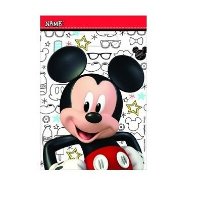 Party Supplies Birthday Decorations Mickey Mouse On The Go Loot Bags Pk 8
