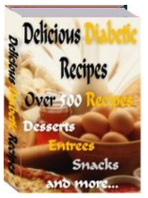Delicious Diabetic Recipes with Master Resell Rights MRR ebook pdf