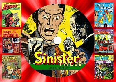 Sinister Tales - Alan Class & Other Horror Comics On DVD Rom