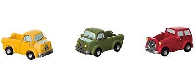 Miniature Fairy Garden Small Vehicle Planters - Your Choice - Buy 3 Save $5