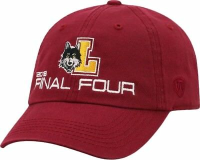 best sneakers 384b9 b3726 Top of the World Men s Loyola Chicago Ramblers Maroon 2018 Final Four Crew  Hat