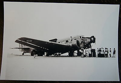 Aviation, Photo Avion Groupe Bretagne, Junkers Ju 52, **