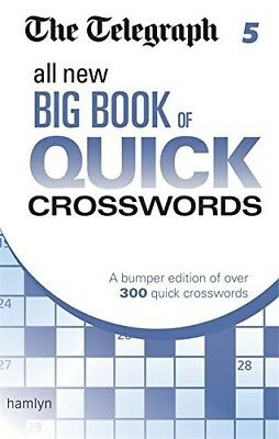 The Telegraph: All New Big Book of Quick Crosswords 5 (The Telegraph Puzzle Book