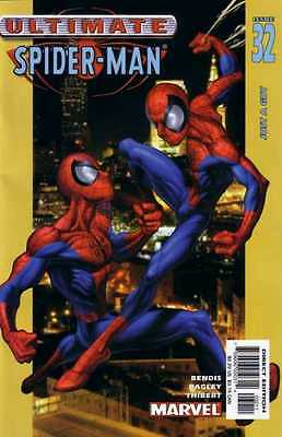 Ultimate Spider-Man #32 (Feb 03) - two Spider-Men! - Near Mint