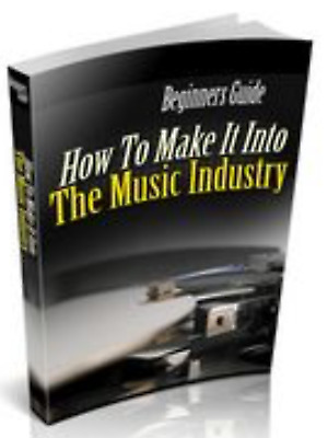 How to Make it in the Music Industry with Master Resell Rights MRR ebook pdf