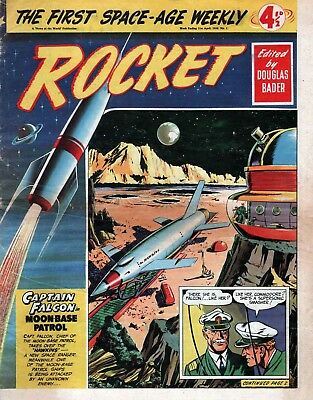 UK COMICS ROCKET #1-32 COMPLETE COLLECTION OF 1950s BOYS SCI-FI COMICS ON DVD
