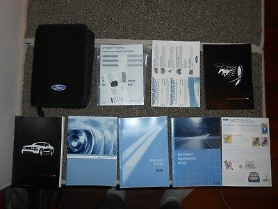 05 2005 ford mustang owners manual w black case binder 20 99 rh picclick com 2005 ford mustang gt owners manual 1995 Ford Mustang Owners Manual