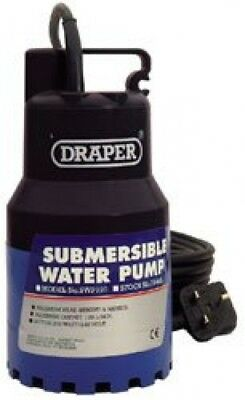 Draper 35463 SWP120 SUBMERSIBLE PUMP 6M LIFT 230V