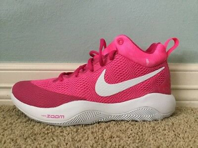 huge discount 9b681 41582 Nike Zoom Hyperrev 2017 Kay Yow Size 9 Pink Cancer Fund Basketball Shoes