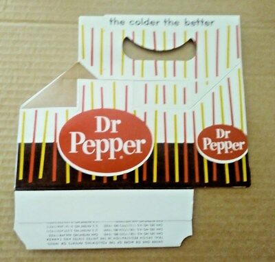 25 unused Dr Pepper carriers one lot