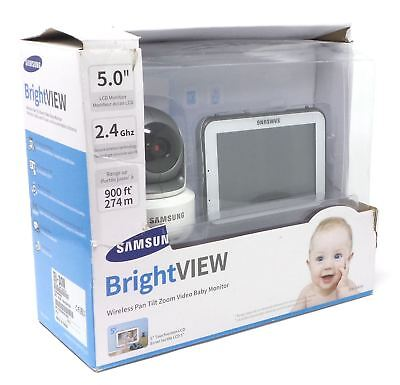 "Samsung BrightVIEW Wireless Pan Tilt Video Baby Monitor 5"" SEW-3043W"