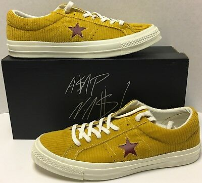 reputable site 017d9 bbfa8 ... today the collection  ASAP Nast Converse Chuck Taylor 160869C Size 13  Autographed Box, Book, Tote ...