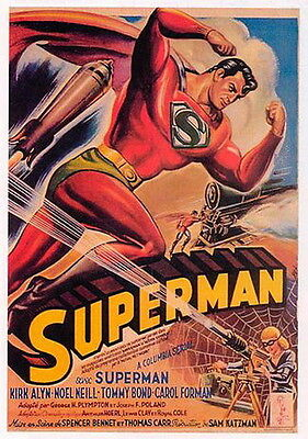 Superman ~ 1948 Cliffhanger Serial 15 Chapters ~ Rare DVD