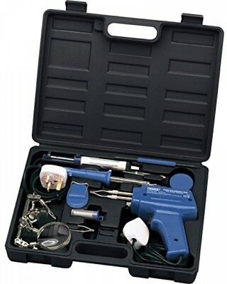 Draper Soldering Iron and Gun with Solder and Accessories 240v