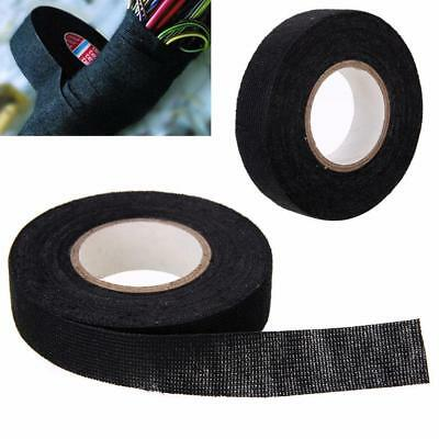 15m x 19mm ADHESIVE TAPE CLOTH FABRIC WIRING LOOM HARNESS SELLING^