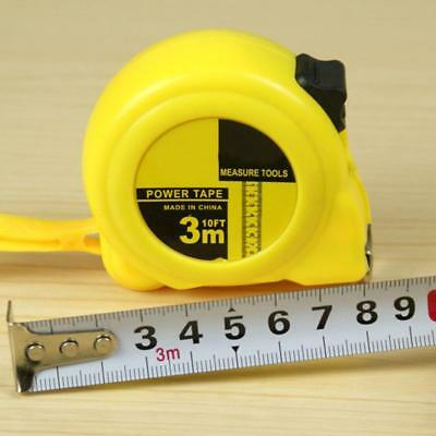Retractable Measuring Tape Metric Feet Inches 3m5m75m Measure Tool Gifts^