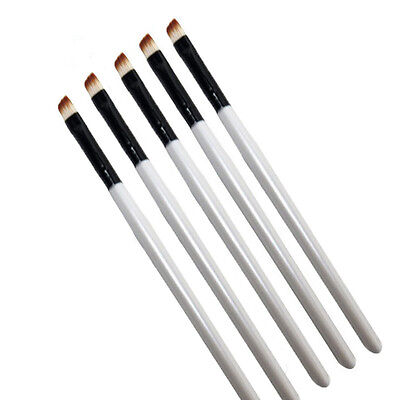 5X Professional Elite Angled Eyebrow Brush Nice Eye Liner Brow Makeup Tool NEW^