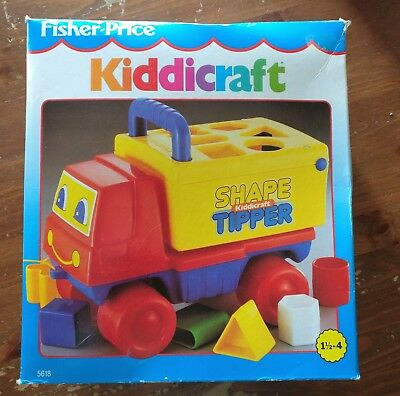 VINTAGE  fisher price  KIDDICRAFT   90's