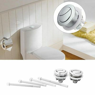 Universal Dual Type Flush Toilet Water Tank Push Button Fits 38mm Hole NEW^