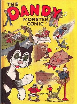 Uk Comics Dandy Book Collection Of Classic Annuals On Dvd