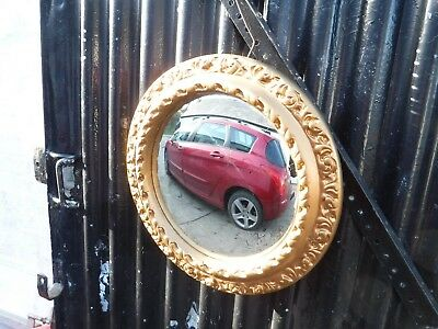 Vintage  Plaster   Convex  Wall  Mirror.    Free  Delivery.