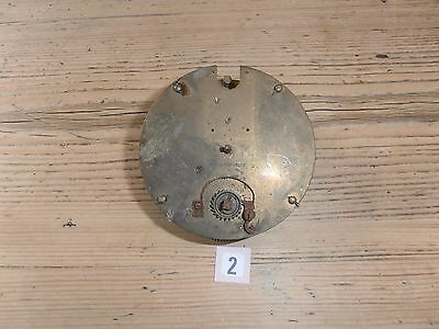French Clock Movement Plates