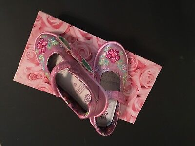 Lelli Kelly Authentic Girls Mary Jane Candy Pink Tennis Shoes Nib 2 Euro 33 $72