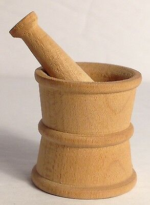 Little Wood Mortar And Pestle/ Made In Canada