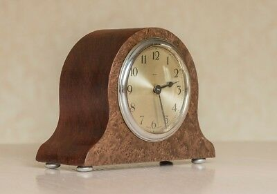Small Vintage Desk Clock In Good Working Order 3100 Picclick Uk