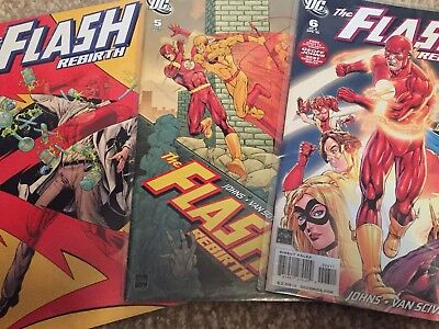 DC Comics The Flash Rebirth Issues 4 5 And 6