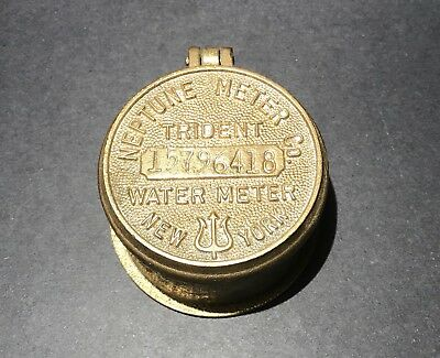 Neptune Co Trident Water Meter Cap Cover New York Number