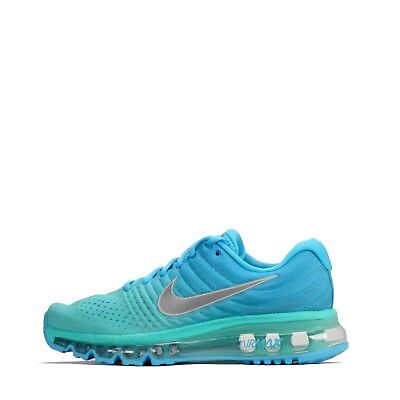 Nike Air Max 2017 Junior Youth Girls Older Kids Running Shoes Chlorine Blue