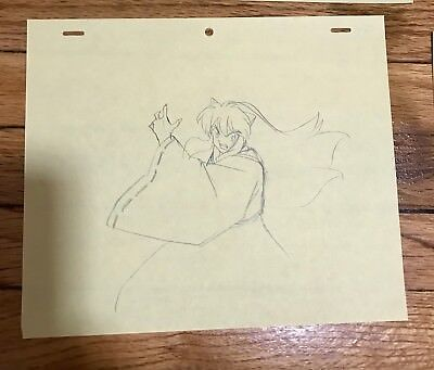 Inuyasha Douga 8 Sketch Collection Movie Art Original Sequence