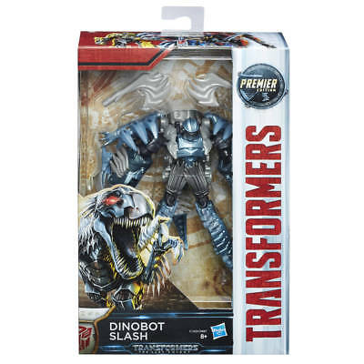 Transformers The Last Knight Premier Edition Dinobot Slash Deluxe Class New