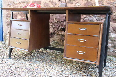 1960's stylish office desk by Strongbow
