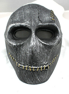 Fiber Resin Wire Mesh Eye Airsoft Paintball Full Protection Orangutan skull Mask