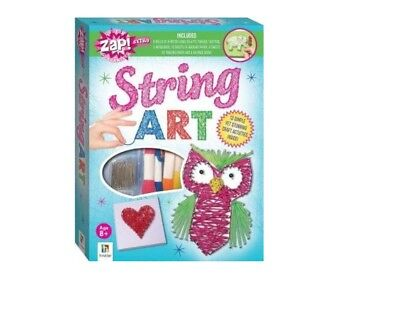 Zap! Extra String Art - Activity Kits - Games, Toys + Hobbies - Children For 8+