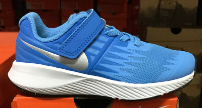 cheap for discount ad319 8e619 Nike Star Runner PSV Kid s Running Shoes Blue 921442 400 Sz11T-3Y SS