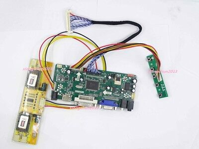 965145bb487 Universal HDMI+DVI+VGA LCD 4 lamps Controller Board kit for panel screen  monitor